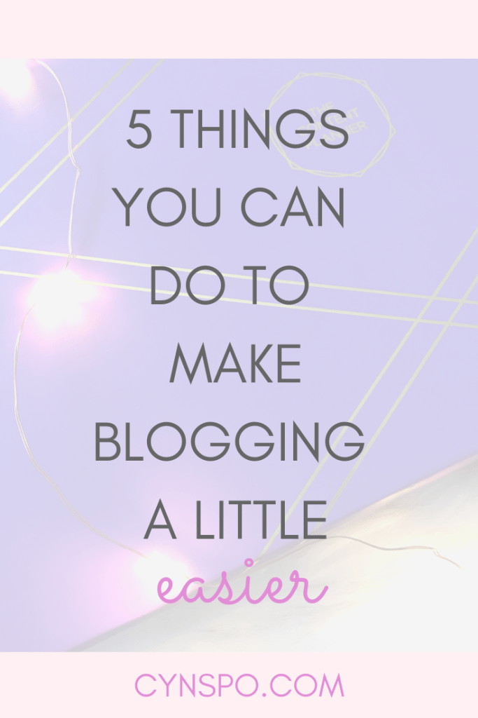 5 Things You Can Schedule to Make Blogging That Much Easier