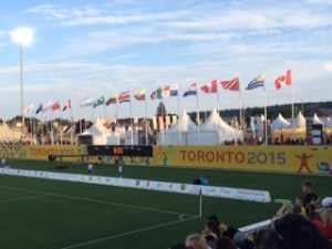PanAm Flags and Tents