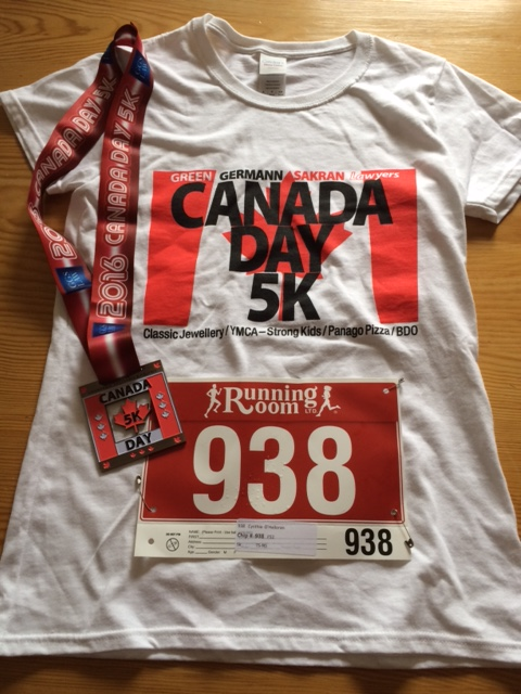 Race Report: Canada Day 5K