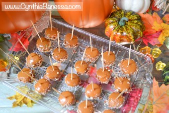 Delicious Mini Caramel Apples