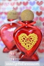DIY Valentine's Gift Jar