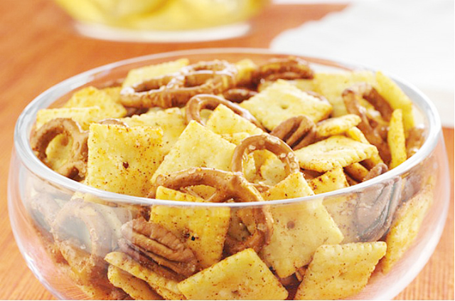 cheezit barbecue mix