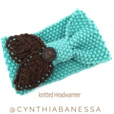 Knitted Headband Warmer