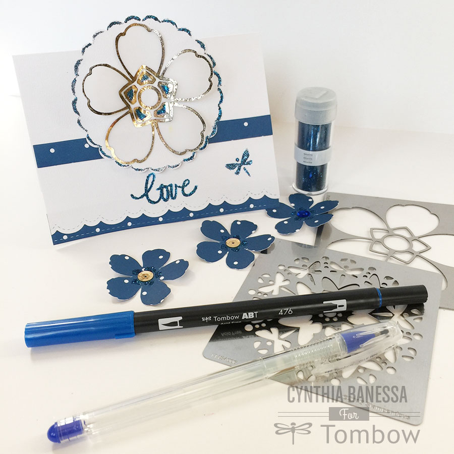 Tombow USA & Stampendous! Blog Hop