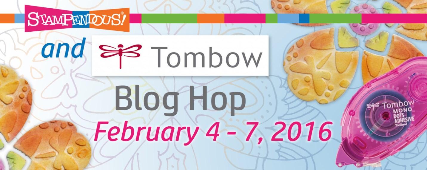 Tombow USA & Stampendous! Blog Hop
