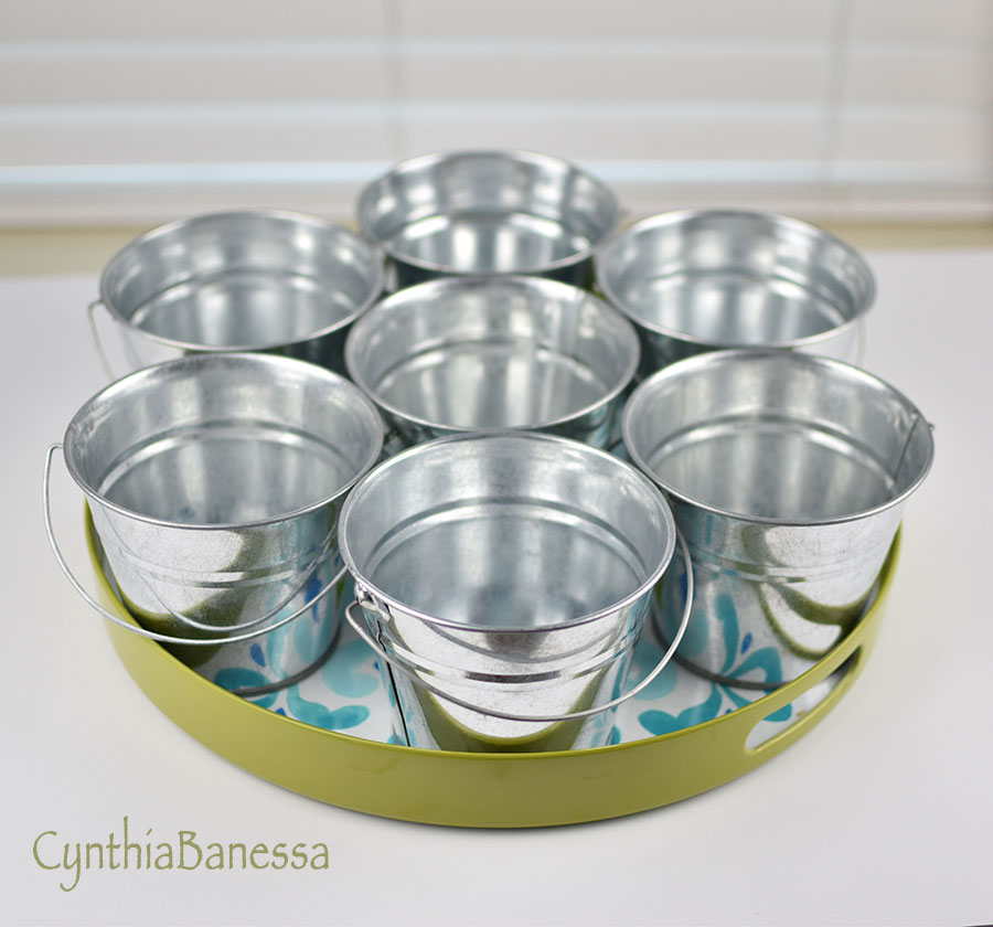 Lazy Susan Craft Supply Storage
