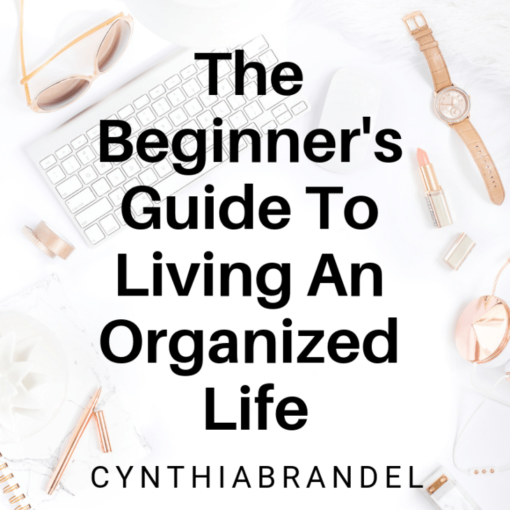 The Beginners Guide To Living An Organized LIfe | A Beginner's Guide To Living An Organized Life | Living an organized life doesn't happen overnight. It takes hard work and dedication. Here are a few easy steps you can take today that will change the way you live tomorrow. Click through to read more.