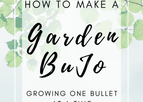 Design A Garden Bullet Journal