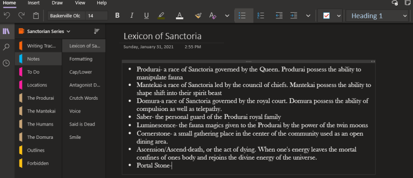 Organize Your Research Notes Using Onenote