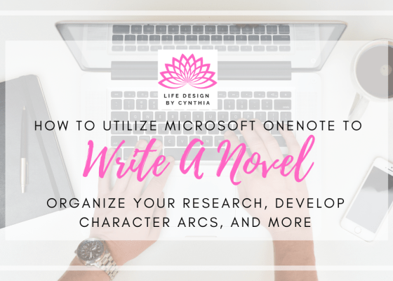 Use OneNote To Structure Your Novel
