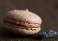 Macarons Ganache fouettée au chocolat & fève tonka