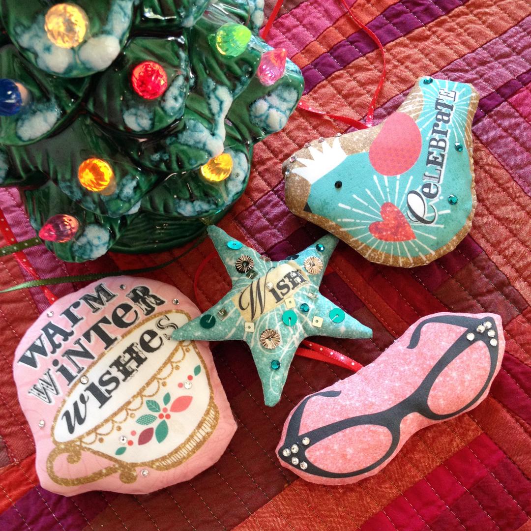 ornaments sewn