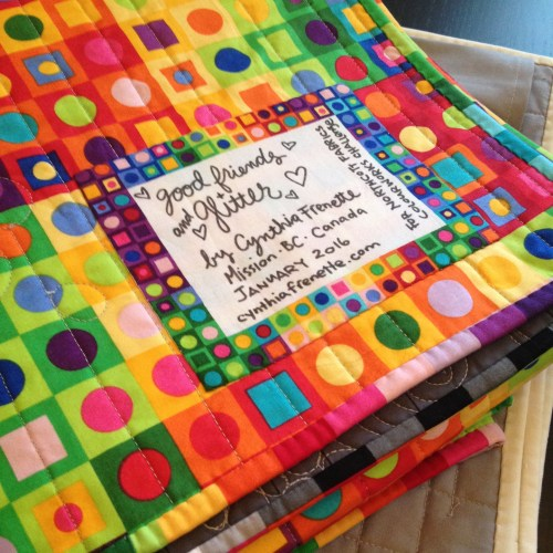 Quilty finishes, in time for #quiltnon