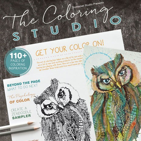 The Coloring Studio, by Stampington