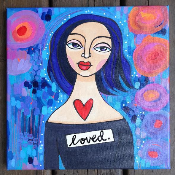 loved girl