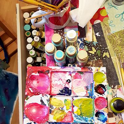 Coats of Paint, progress Day 2-3