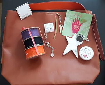 bag and goodies