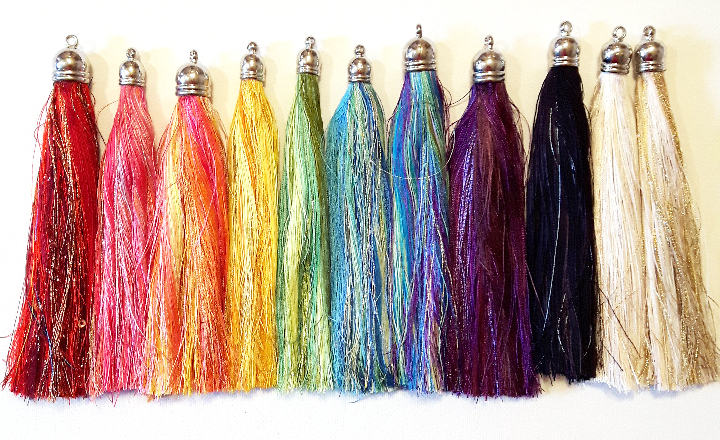 rainbow-tassels