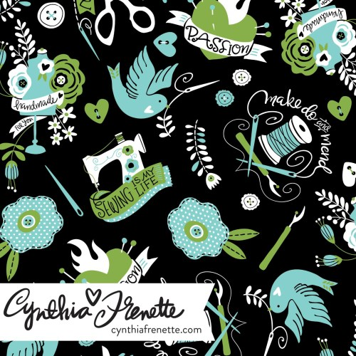 Spoonflower Design Challenge, Limited Palette Sewing