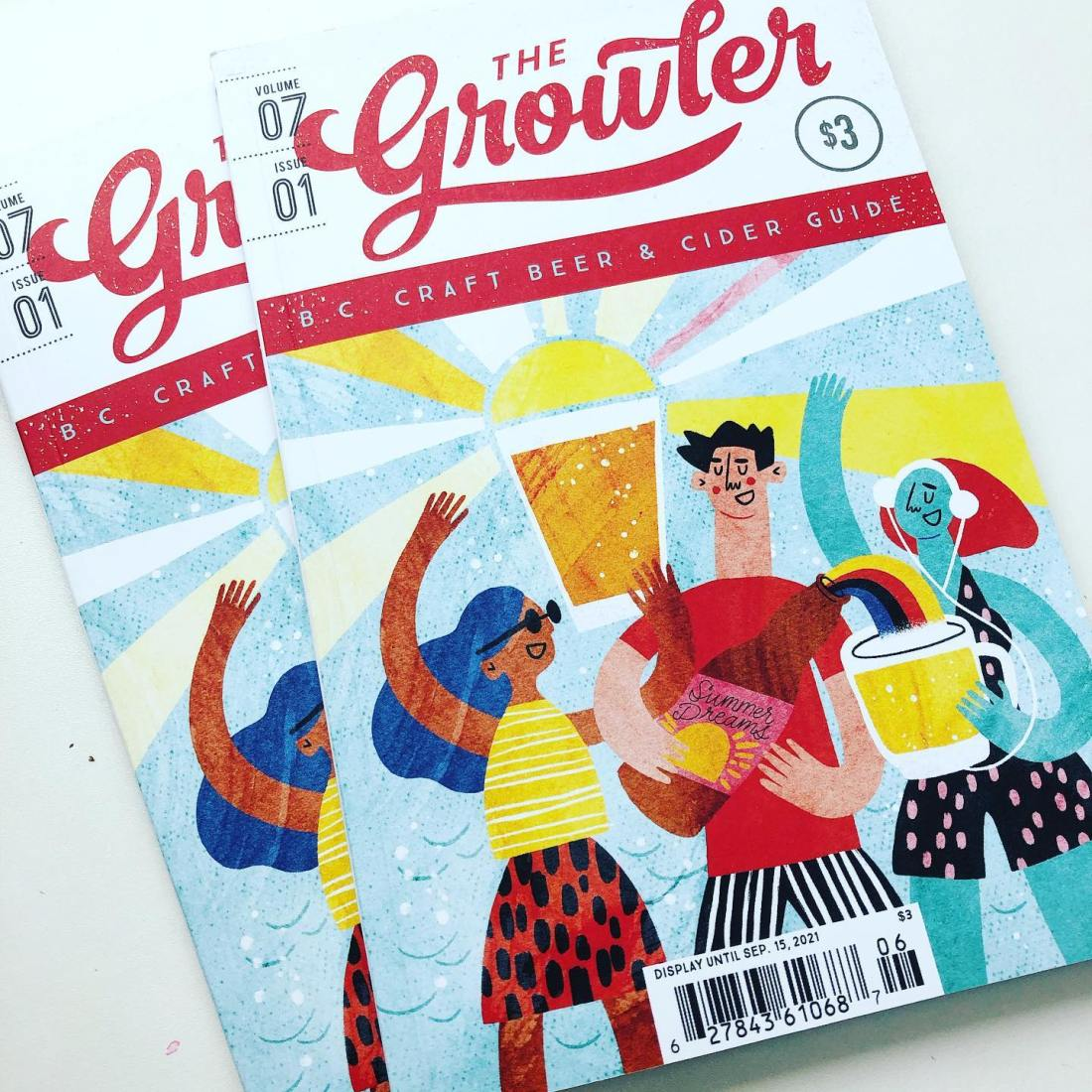 cover of the growler bc summer issue
