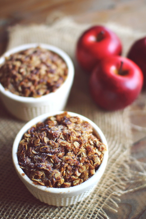low-sugar-apple-crisp