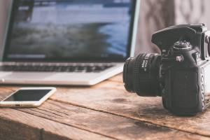 analogue background business camera