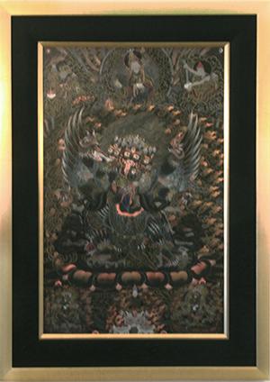Dorje Phurba framed