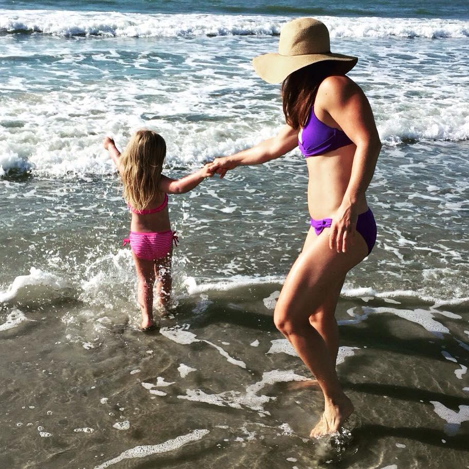 Hitting the beach!