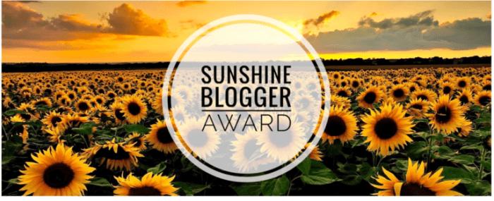 Image result for the sunshine blogger award