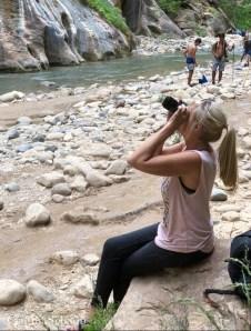 Me at the Narrows of Zion Park Utah 2018