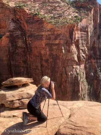 Me taking some pics with my SonyA6000 Zion Park Utah 2018