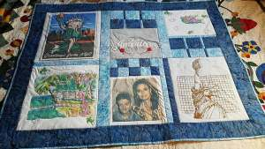 #433 T-Shirt Quilt with Carmen