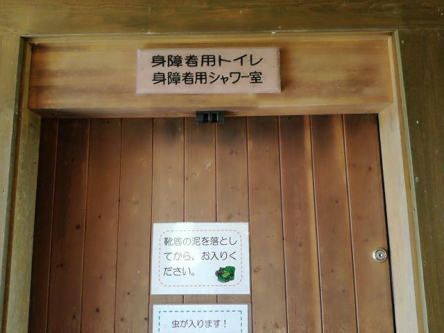 キャンプ場トイレ