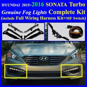 2015~2016 HYUNDAI Sonata Turbo LED Fog Light Lamp Complete