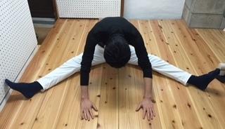 柔軟体操筋トレを効率的ながら運動