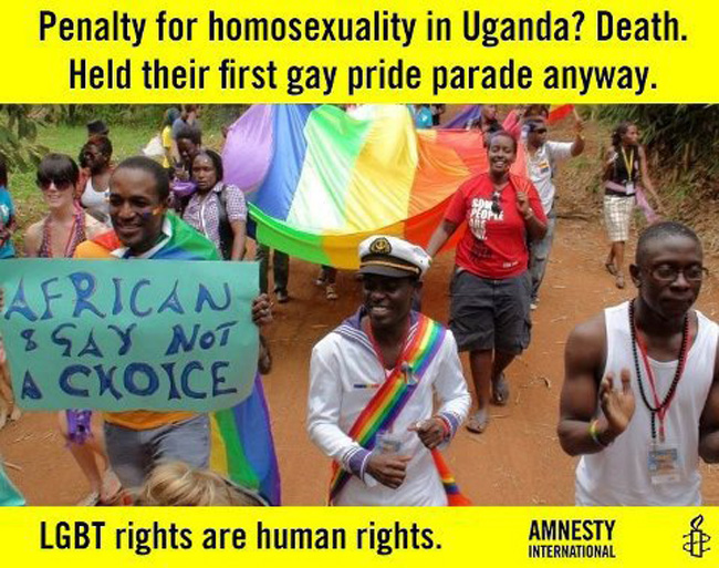 PHOTO BREAK: Ugandan Gay Pride