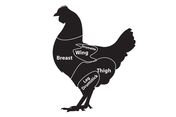 chick parts