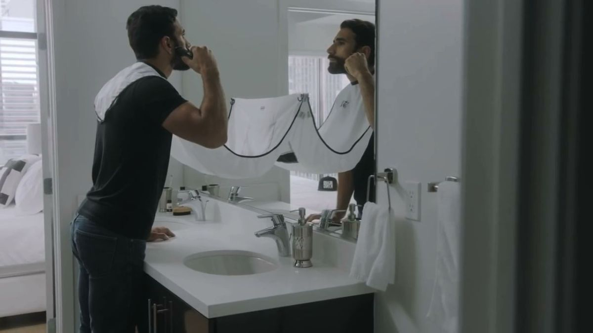 "CYPHER AVE APPROVED: Keep Your Bathroom Clean With ""The Beard Bib"""