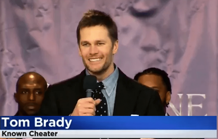 TV Producer Fired for Truthfully Calling Tom Brady a Cheater