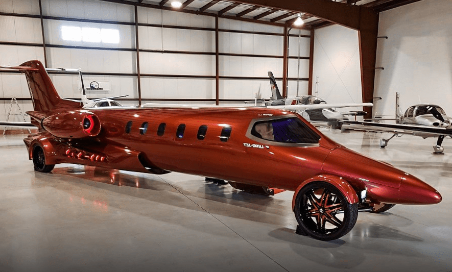 The Learjet Limo