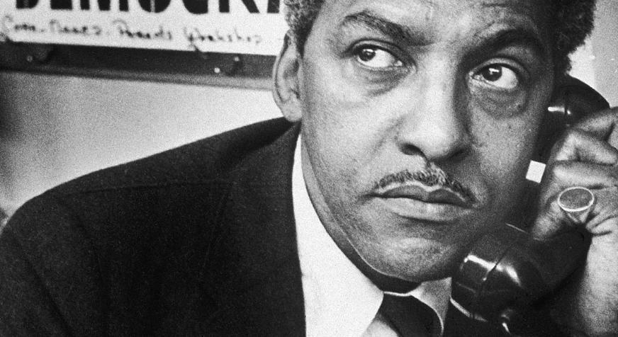 Bayard Rustin Receives Posthumous Pardon