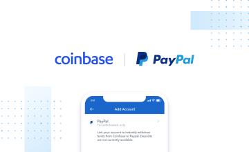 Coinbase: Retiros instantáneos de PayPal ahora disponibles para todos los clientes en Estados Unidos