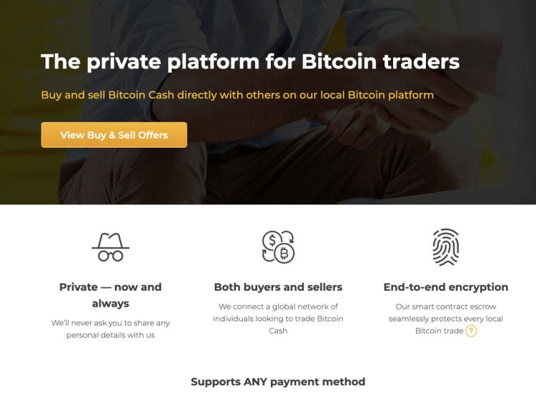 Local.bitcoin.com: la nueva plataforma OTC de Bitcoin.com aceptará cualquier método de pago
