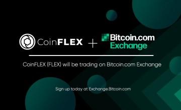 Bitcoin.com Exchange incorpora el primer token SLP a su plataforma (CoinFLEX token)