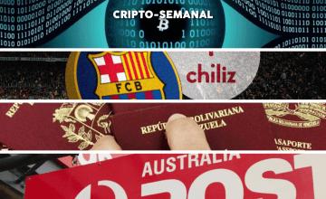 Cripto-Semanal #2: Herramientas de privacidad en BCH, pasaporte venezolanos pagos con BTC, el token de Barcelona F.C. tiene éxito y más