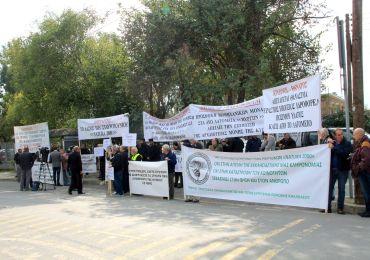 Protest w obronie obszaru NATURA 2000 w Nikozji