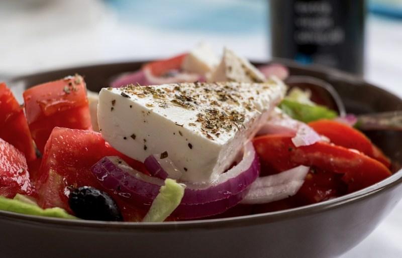 Prawdziwa sałatka grecka