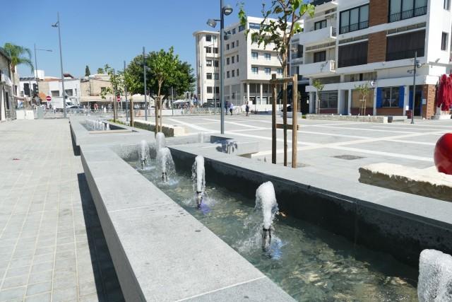 Plac Syntagma w Limassol już po remoncie