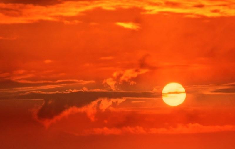 Zobaczcie jak zachodzi słońce na Cyprze