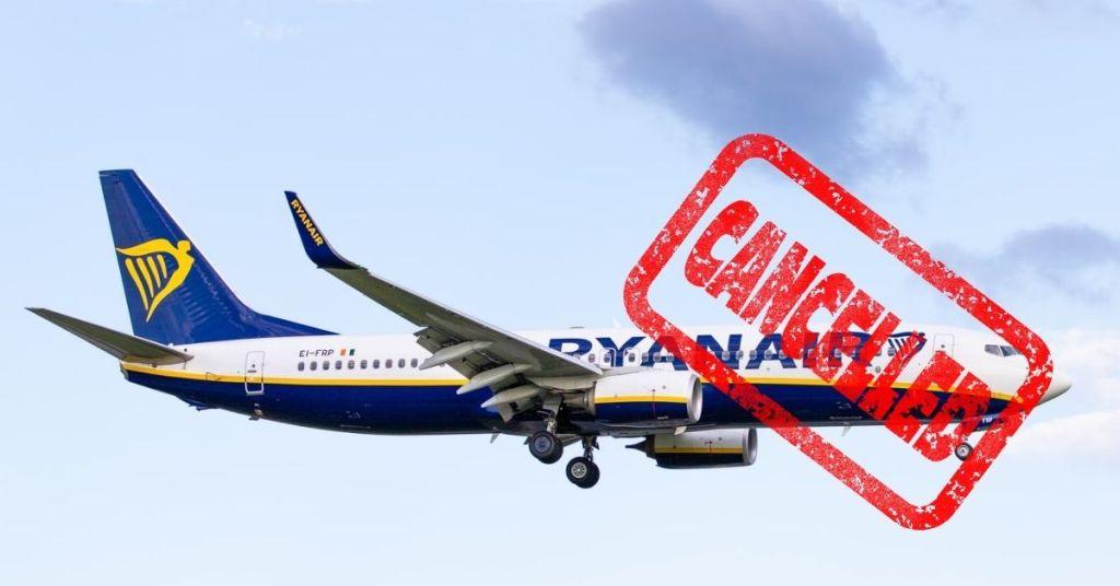 Ryanair kasuje loty z Pafos